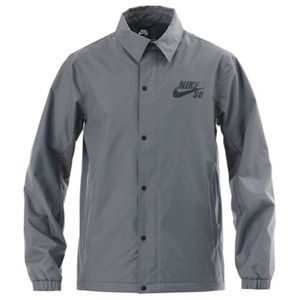 Nike SB Snowboarding Assistant Coaches Grey Jacket